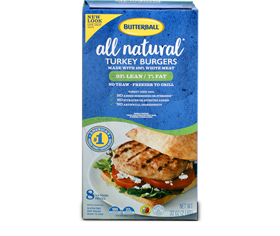 Butterball® All Natural Turkey Burgers